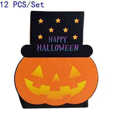 Descripción  100% nuevo de alta calidad  Material: atasco de papel  Color: como se muestra  Tamaño aproximado: 9 * 4 * 13.5cm  Los productos incluyen: 12 * caja de dulces  SPU: TSI3746