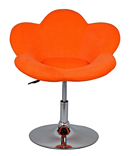"Barhocker ""orange Blume"" in Blumenform Lounge Sessel Barsessel Clubsessel Cocktailsessel Drehsessel - 8"
