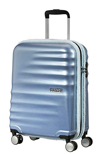 American Tourister Wavebreaker Trolley (4 ruote) 55cm Ice Blue