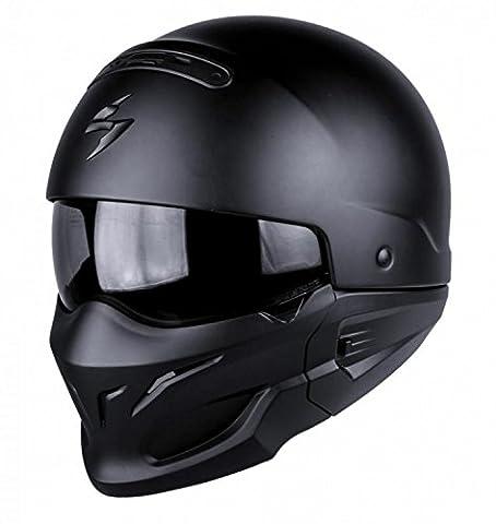 Scorpion Exo Combat Casque de moto Noir mat