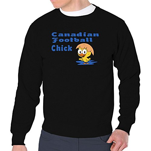 Eddany Canadian Football chick Sweatshirt (Canadian Schwarz Football)
