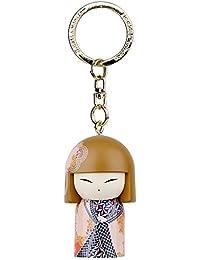 Porte clé Kokeshi Kimmidoll 5cm Kaona - amitié