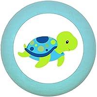 """Möbelgriff""""Wasserschildkröte"""" Holz Kinder Kinderzimmer Meerestiere 1 Stück Traum Kind"""