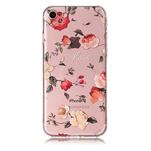 Per iPhone 7 Cover , YIGA gattino libro Trasparente Silicone Morbido TPU Case Shell Protezione Custodia per Apple iPhone 7 (4,7) XY17