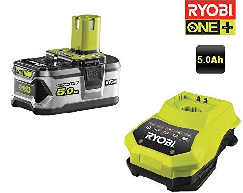 Preisvergleich Produktbild Ryobi Akku RBC18L50 18 V und Ladegerät, 1 Stück, schwarz, grün, 5133002601