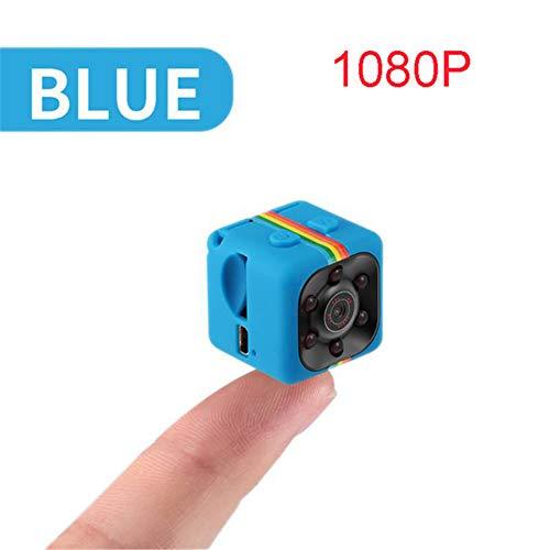 QLPP 1080P Mini Spy Hidden Camera, kleinste kabellose Action-Kamera für Körperkameras, Nanny-Überwachungskamera mit Nachtsicht und Bewegungserkennung, integrierter Akku,C