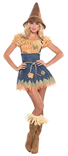 Zauberer von Oz-Vogelscheuche- Kostüm für Damen - Grösse 40/42