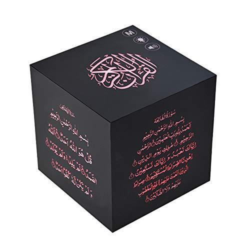 SODIAL Drücken Sie Farbe Koran Lautsprecher Lampe Koran Tisch Lampe Ton Koran Lautsprecher Muslim Geschenk, übersetzung In 25 Sprachen