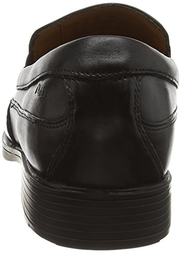 Clarks Tilden Free 261103127 Herren Slip On Schwarz (Black Leather)