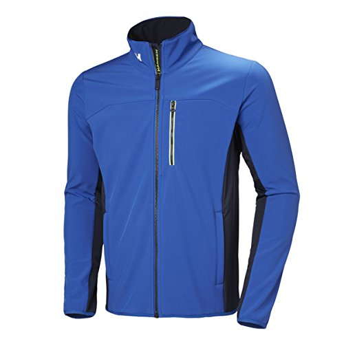 Helly Hansen Herren Crew Softshell Jacket Segeljacke, Navy olympian blue