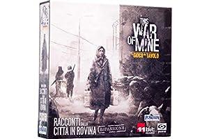 Asmodee Italia - This War of Mine expansión Cuentos de la Ciudad de Rovina Juego de Mesa en Italiano Pendragon Games Studio, Color, 0497