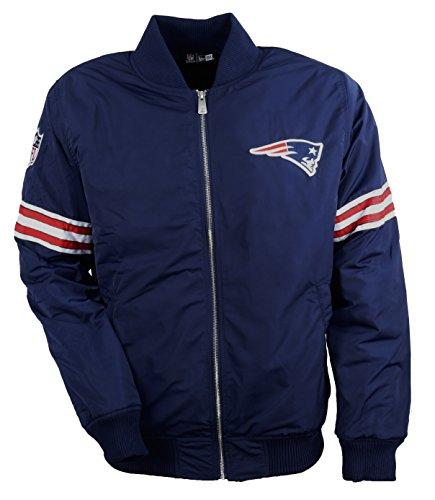 New Era - New England Patriots - Team Apparel Bomberjacket - Arm Rings - Navy - L