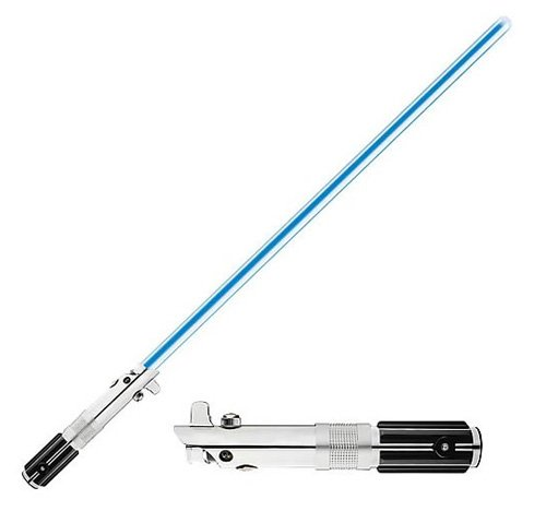 STARWARS ANAKIN SKYWALKER LIGHTSABER COLLECTIBLE REMOVABLE BLADE