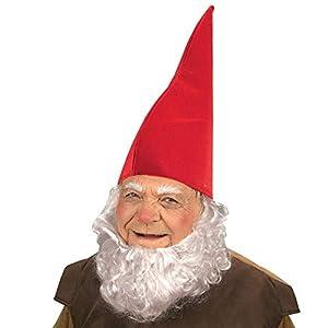 WIDMANN?Sombrero de gnomo para adultos - Color rojo - Talla única - Modelo VD-WDM9506R