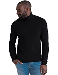 2f6fcce86 Mens Cashmere Merino Roll Neck Long Sleeve Top Fine Knit Polo Neck Knitted  Sweater
