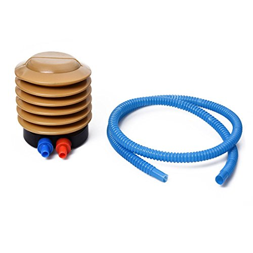 41dbvFVZjJL. SS500  - Foot Operated Air Pump - TOOGOO(R) Bicycle Balloons Yellow Blue Plastic Housing Foot Operated Air Pump Inflator