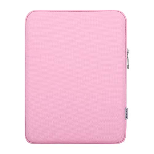 MoKo Funda de Tableta para 7-8 Inch E-Book Reader/Tablet,Tela de Poliéster Protector Portátil Compatible con iPad Mini 1/2/3/4, Lenovo Tab 4 8.0, Samsung Galaxy Tab S2 8.0, ZenPad Z8s 7.9 - Rosa