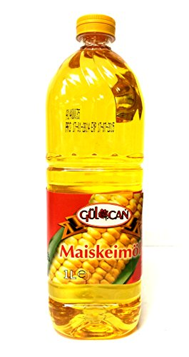 4 x 1 Liter Gülcan Maiskeimöl Maisöl Corn Oil Misir Yagi
