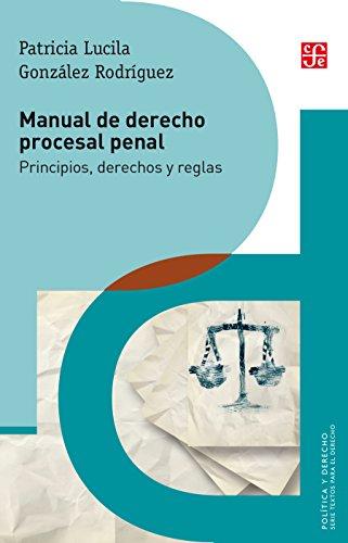 Manual de derecho procesal penal. Principios, derechos y reglas (Política Y Derecho) por Patricia Lucila González Rodríguez