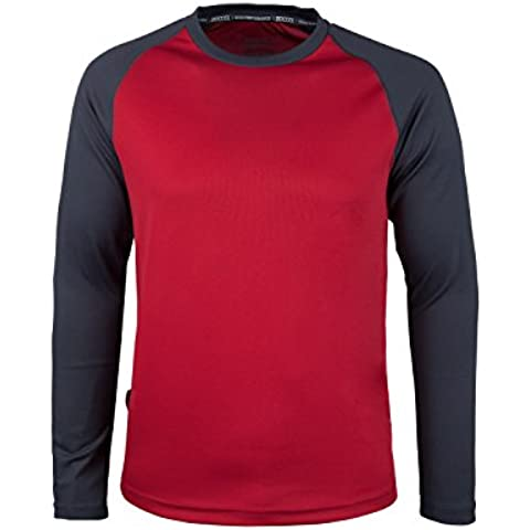 Mountain Warehouse Camiseta de manga larga Endurance para hombre