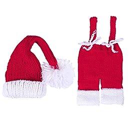 Descripción  El artículo es un conjunto de adorables sombreros y pantalones para bebé estilo caricatura, especialmente diseñados para la fotografía de bebés. Está confeccionado a mano, está hecho de suave algodón ecológico, es transpirable, c...