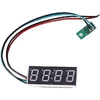 Cikuso Reloj Digital para Moto o Coche (Formato 24 H, 16 mm, Ajustable
