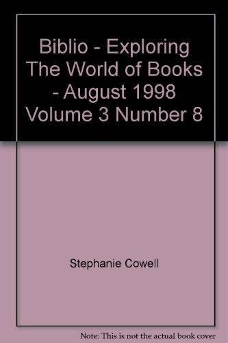 Biblio August 1998