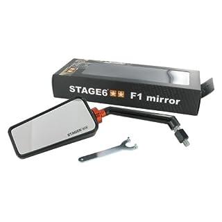 Spiegel Stage6 F1, links, M8, schwarz