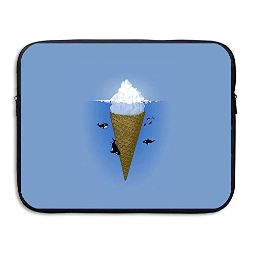 Laptop Sleeve Bag Ice Cream Cover Computer Liner Package Protective Case Waterproof Computer Portable Bags -