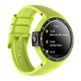 Ticwatch S Aurora Smartwatch Wrist Watch Waterproof with 1.4 Inch OLED Display, Android Wear 2.0, Sportswatch Compatible with Android and ios Suitable for Most Types of Smartphone