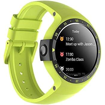 Ticwatch S Aurora Smartwatch Bluetooth Montre Connectée avec écran OLED 1,4 Pouces, Android Wear 2.0, Sportswatch Compatible avec Android et iOS, ...