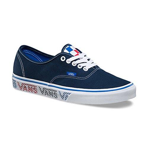 Vans Rote Für Sneaker Männer (Vans UA Authentic Sneaker Herren, Rot, Blau (Dress Blue/Blue/Red) - Größe: 11 B(M) US Mujer/9.5 D(M) US Hombre)