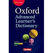 Oxford Advanced Learner's Dictionary - 9th Edition: B2-C2 - Wörterbuch (Kartoniert) mit Online-Zugangscode: Inklusive Oxford Speaking Tutor und Oxford Writing Tutor