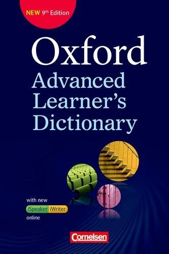 Oxford Advanced Learner's Dictionary - 9th Edition: B2-C2 - Wörterbuch (Kartoniert) mit...
