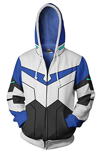 Voltron: Legendary Defender of The Universe Lance Charles McClain Kapuzenjacke Hooded Blau ()