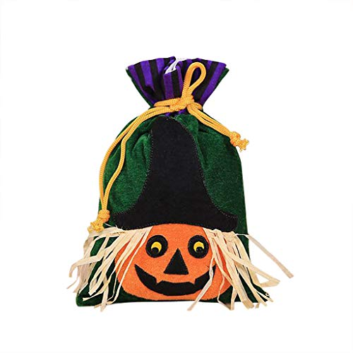 Pants Kostüm Candy - Mitlfuny Halloween coustems Kürbis Hexe Cosplay Gast Ghost Schicke Party Halloween deko,Halloween süße Hexen Candy Bag Verpackung Kinder Party Aufbewahrungstasche Geschenk