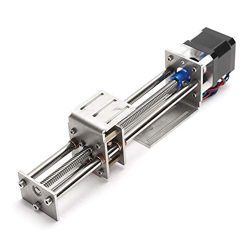 ChaRLes Machifit 150Mm Slide Stroke Cnc Z Axis Linear Motion Actuator Graving Machine Mit Stepper Motor