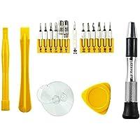 18-en-1 Kits de herramientas de reparación para los bits de destornillador de acero Apple Watch, MacBook y iPhone-S2