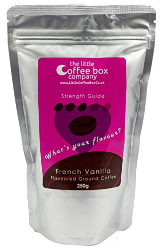 French Vanilla Flavoured Ground Coffee 250g - Premium Roast Flavour  French Vanilla Flavoured Ground Coffee 250g – Premium Roast Flavour 41dc1i4b0HL