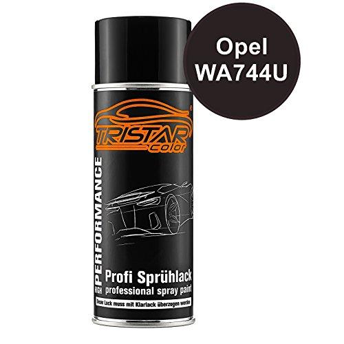Preisvergleich Produktbild Autolack Spraydose Opel WA744U Luxor Perl / Luxorblau Perl Basislack Sprühdose 400ml