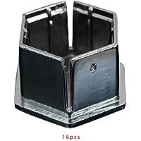 Tuerca de Rueda de Coche 16PCS Perno de plástico Cubiertas Casquillos de Repuesto para Peugeot 207 307 308 407 408 2008