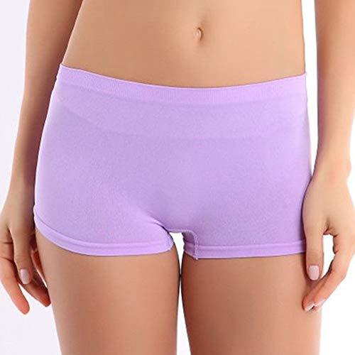 Frauen Shorts,Purple Nylon Frauen Sommer Farbe Shorts Training Bund Dünne Hohe Taille Shorts Gummizug - Frauen Nylon Shorts