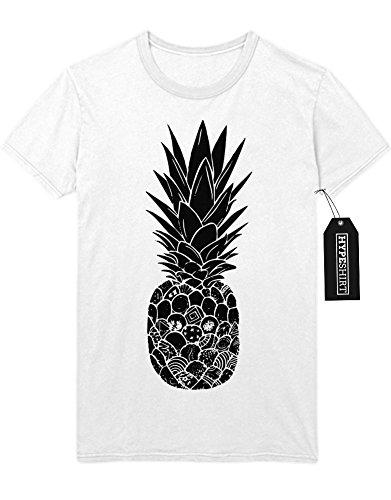 "T-Shirt ""ANANAS"" H100014 Weiß"