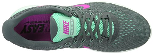 Nike 843726-301, Scarpe da Trail Running Donna Verde (Green Glow/fire Pink-hasta-cannon 301)