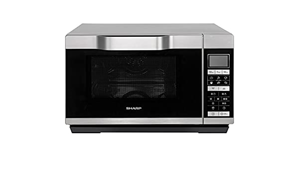 sharp r861. new sharp r861 flatbed combination microwave - silver: amazon.co.uk: kitchen \u0026 home