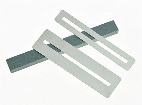 kaish Gitarre Bass Bund Griffbrett Schleifen Displayschutzfolie Tabelle Polieren Guard Sander Werkzeug (Slot Tabelle)
