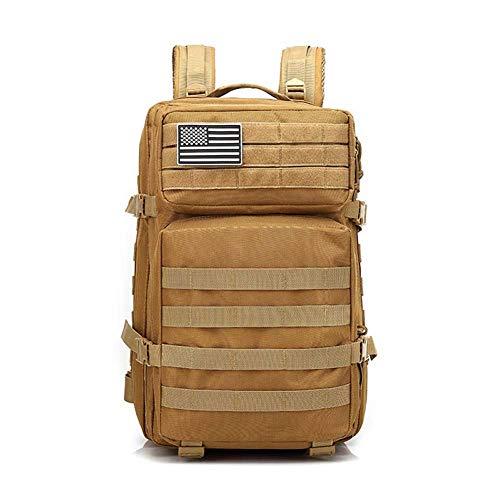 Zaino tattico Militare 45L Molle Army Assault Bag Escursionismo Campeggio Zaino da Caccia all'aperto Zaino Impermeabile edc Zaino da Viaggio Zaini Casual Zaini da Trekking