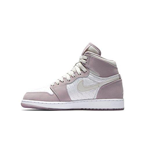 Nike Air Jordan 1 Ret Hi Prem Hc Gg, Scarpe da Basket Donna Beige (Light Bone / Light Bone-Plum Fog-White)