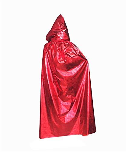 GEIUEIMAN Halloween-Party Halloween Mantel Weihnachten Kostüm Hexe Hexe Vampir Tod Mop Mantel Erwachsenen großen Mantel Halloween-Kleid