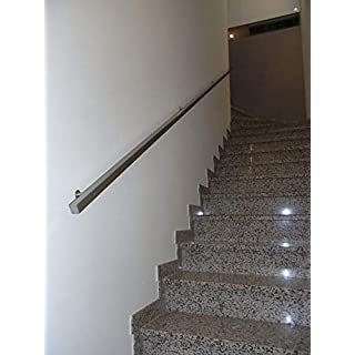 Handrail in Stainless Steel AISI 304 for Ladder Protection Section 30x30 Various Lengths